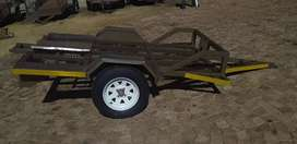 New motorcycle, tricycle and quad trailer