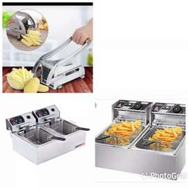 CHIP CUTTERS AND DEEP FRYERS