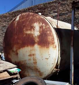 Steel Water/Chemical Storage Tanks - 18,000L - Horizontal
