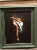 Картина «Балерина», холст/масло.