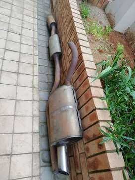 Exhaust System for Corolla rxi