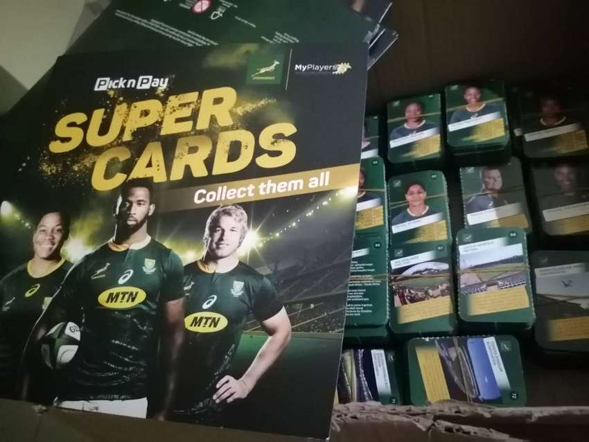 Rugby Super Cards and albums 0
