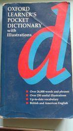 Английский оксфордский карманный учебный словарь с иллюстрациями