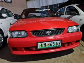Toyota tazz 160 fuel injection