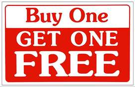 buy 1 and get 1 free!!!