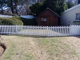 Picket Fencing and wood cladding