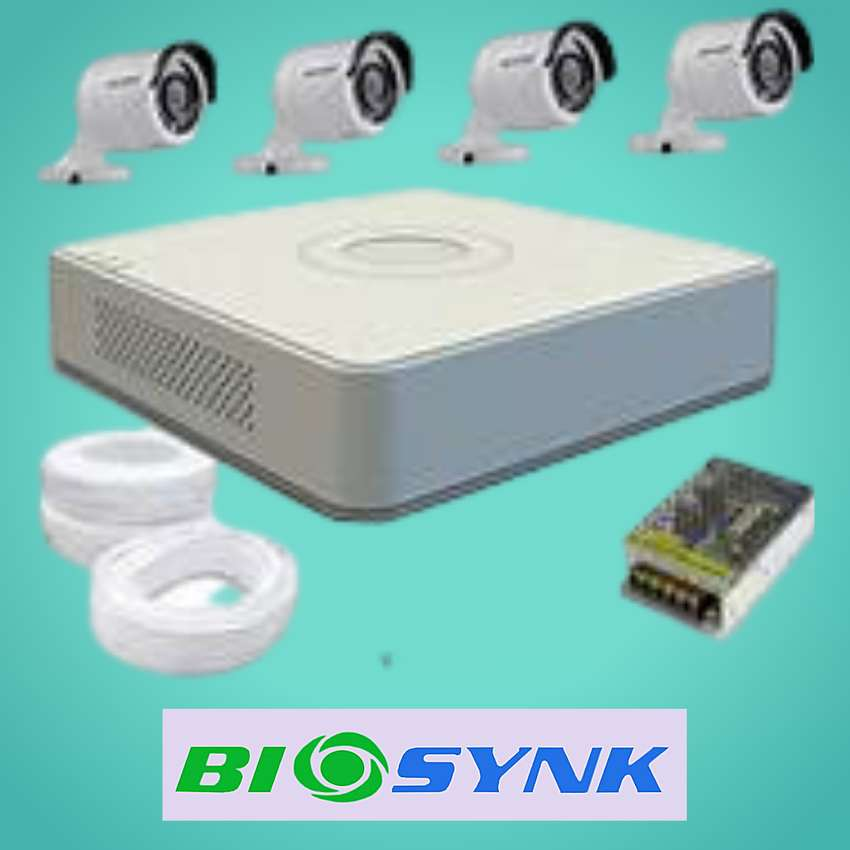 CCTV SYSTEM - ANALOGUE HD 2MP 4 channel