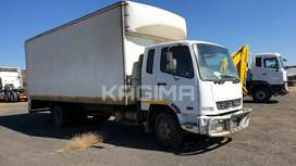 Mitsubishi Fuso Van Body with tail lift