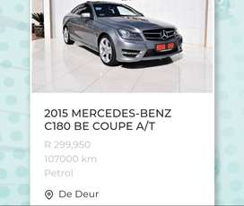 Mercedes benz c180 be coupe