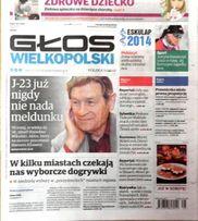 Głos Wielkopolski 2014 - Stanisław Mikulski, Justyna Kowalczyk
