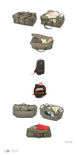 Camping accessories and equipment