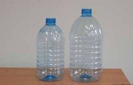 ПЭТ бутылки пластиковые 5,10 литров б/у чистые