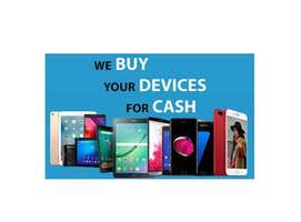 Sell Us Your Smart Phone or Tablet