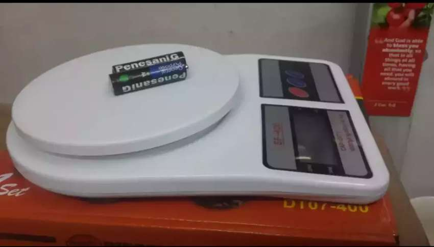 Accurate kitchen scales 0