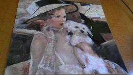 Постер,Дама с собачкой.