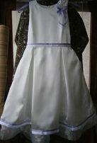 Платье для девочки – Купить нарядное белое платье девочке 6-8 лет