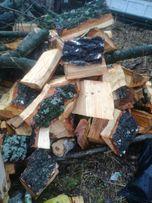Drewno rabane lisciaste lub iglaste.150 zl/m.p