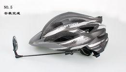 Зеркало на велосипедный шлем на липучке - любой угол поворота