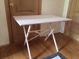 Раскладной стол с натурального дерева