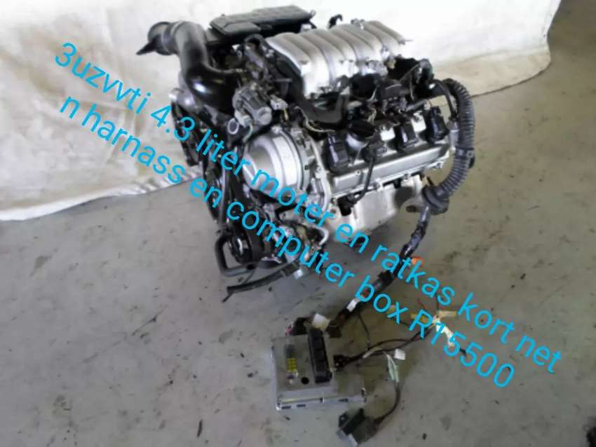 Lexus v8 moters and gearbox 0