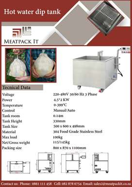 Hot Water Dip Tanks