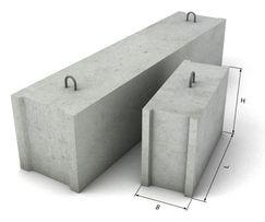 Фундаментные блоки ФБС