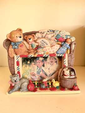 Adorable Teddy Bear Picture Frame