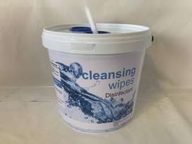 Disinfect wipes bucket