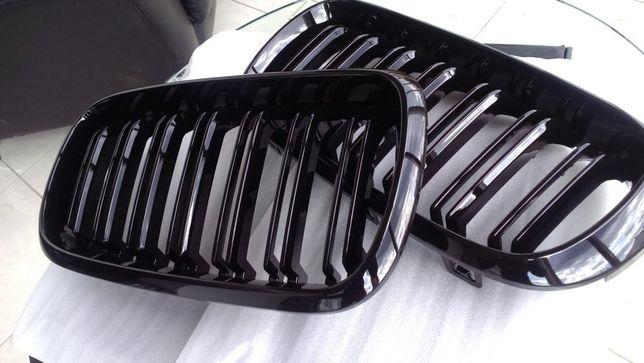 Решетка (ноздри) радиатора BMW X5 F15 / X6 F16 (глянец, мат.) Киев - изображение 4