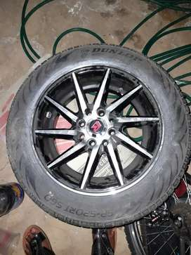 New tyers with rims
