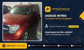 Now breaking Dodge Nitro for parts!