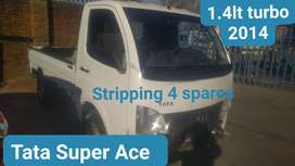 Tata Super Ace 1.4lt turbo 2014 stripping for spares