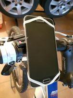 Uchwyt rowerowy, silikonowy, na rower, telefon, smartfon, komórka,