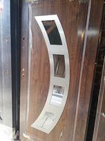 Drzwi wejściowe zewnętrzne SETTO 68 mm , 3 szybowe