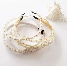 Beautiful Pearl Alice Bands available