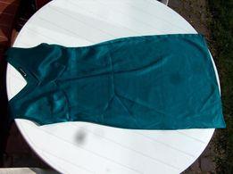 Top Secret = sukienka = XS = morski zielony turkus