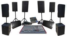 Sound Hire - All Events + DJ. R2800