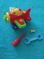 Самолет конструктор для малышей