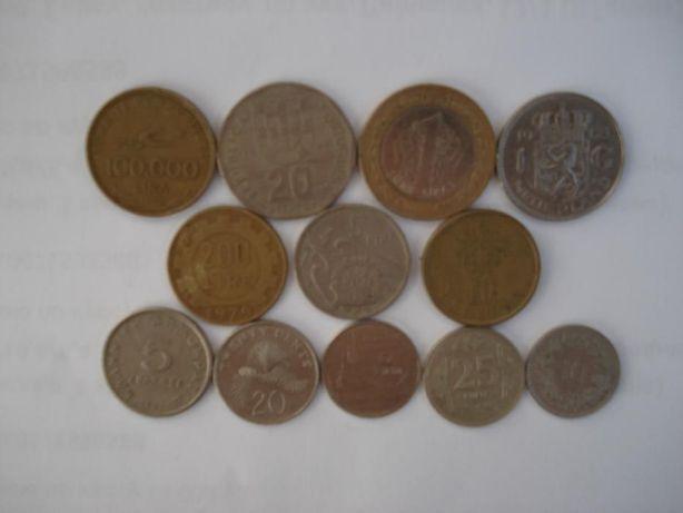 Набор иностранных монет