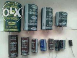 Продам конденсаторы электролитические SAMWHA , CAPXON
