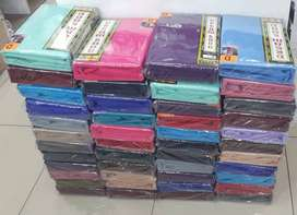 Double and Queen size fitted sheets plus night frill
