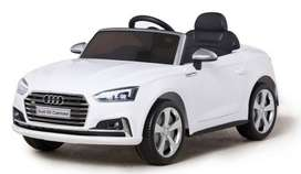 Audi S5 Sports Edition Kids Electric Licensed Luxury Ride On Car - Whi