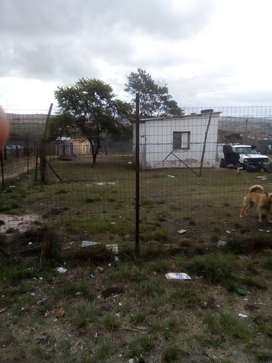 Land with 1 room flat for sale