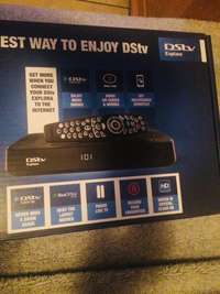 A brand new dstv explora and smart switch. 0