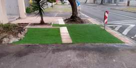 Paving and grass installations