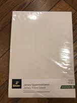 Простынь на резинке из органического хлопка р. 140-160*200 Германия