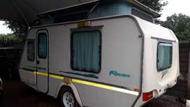 GYPSEY RAVEN 1999 MODEL IN VEREENIGING WITH FULL TENT AND RALLY TENT