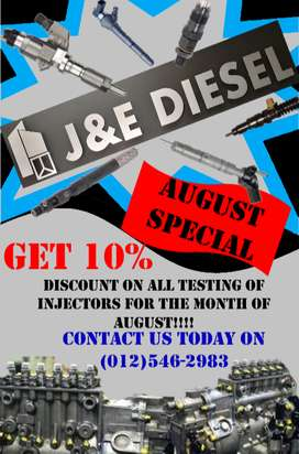 SERVICING AND REPAIR OF DIESEL PUMPS AND INJECTORS