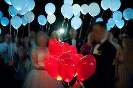 Balony LED ledowe ŚLUB WESELE atrakcja balony świecące PREZENT