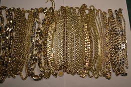 ŁAŃCUSZEK ZŁOTY męski złoto łańcuch duży wybór wrocław